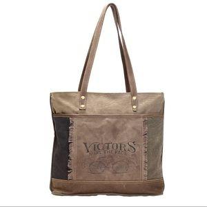 Handbags - 💥NEW💥 Up Cycled Canvas Tote Bag